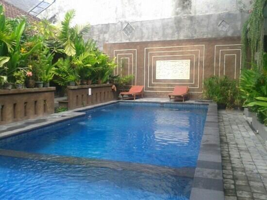 Waringin Homestay: poolside