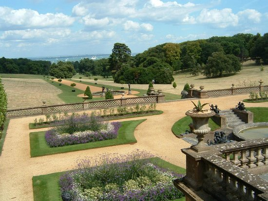 Patio View Picture Of Osborne House East Cowes