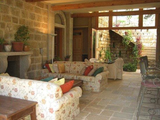 Secret Haven: Living room