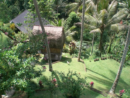 The Kampung Resort Ubud: Landscaped gardens