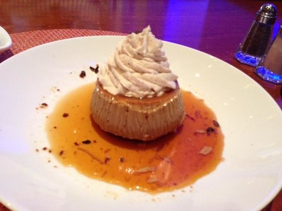 Rosa Mexicano - First Avenue : Coffee flavored flan