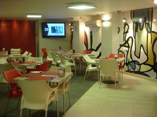 City Express Ciudad de Mexico Alameda: Restaurante do hotel