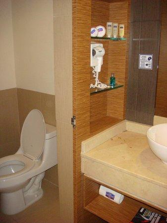 City Express Ciudad de México Alameda: Banheiro