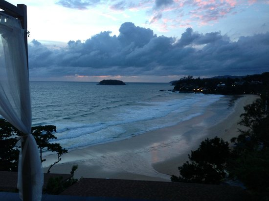 The Shore at Katathani: Evening view from our villa