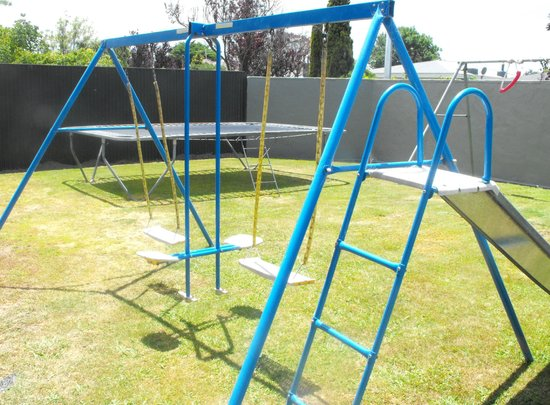 The Magpie: Playground for children.