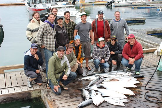 Tofino Fish Guides - Private Charters : great day with Tofino Fish Guides