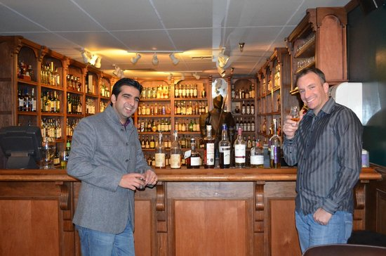 Freakin' Frog / Whisky Attic: Upstairs in the Whisky Attic- see how many bottles you recognize...