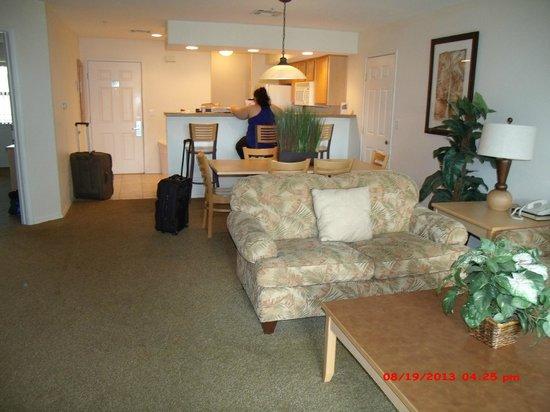 Still Waters Resort: front room,dinning room, kitchen
