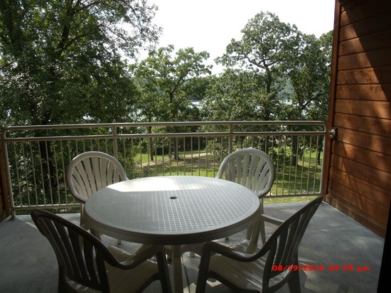 Still Waters Resort: balcony