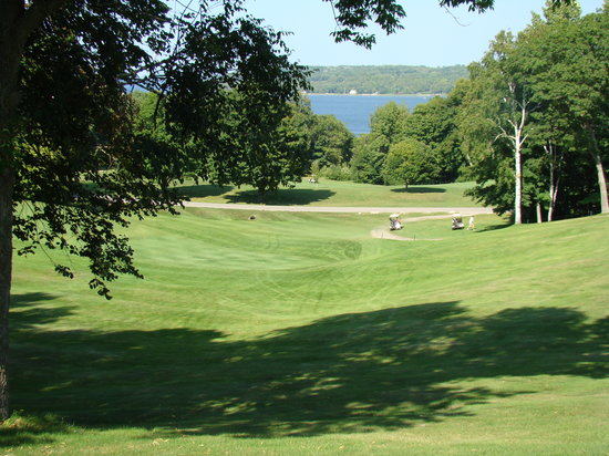 Peninsula State Park: Typical view on the golfcourse