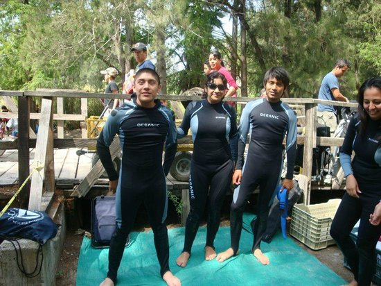 Media Luna School of Diving: MIS HERMOSOS HIJOS¡¡¡