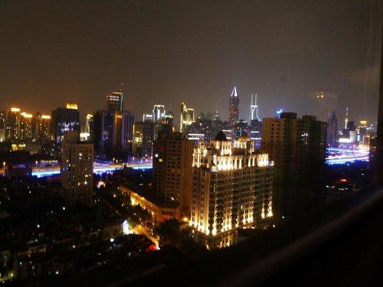 Okura Garden Hotel Shanghai: CITY VIEW From Room (level21)