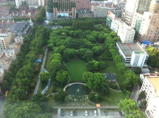 Park View From Level32 Picture Of Okura Garden Hotel Shanghai