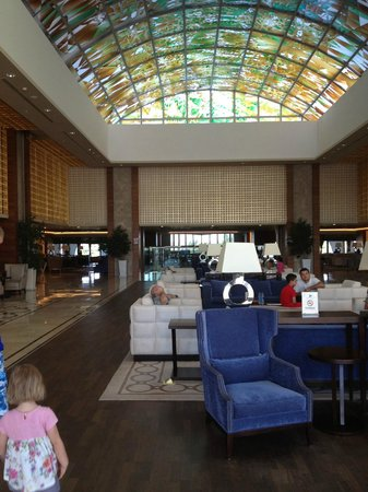 Sirene Belek Hotel: лобби