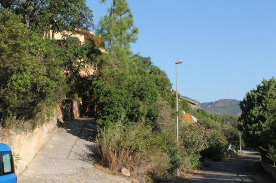 Villa Patrizia sul lago : accès au B&B
