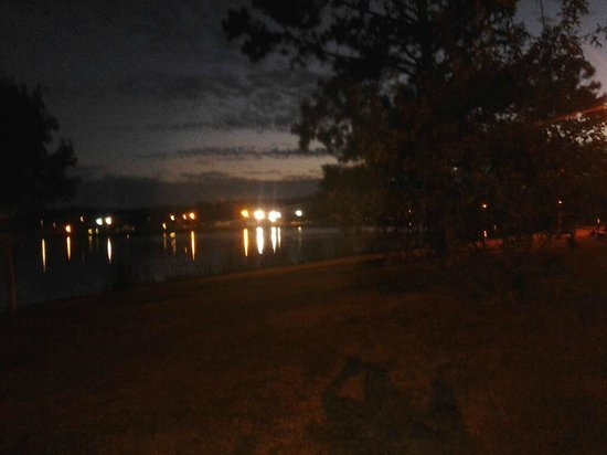 Lake Mayer Community Parks: Other side of the Lake at night