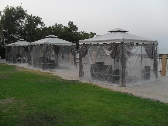 air conditioning tent. safir hotel and residences kuwait: air conditioning tent