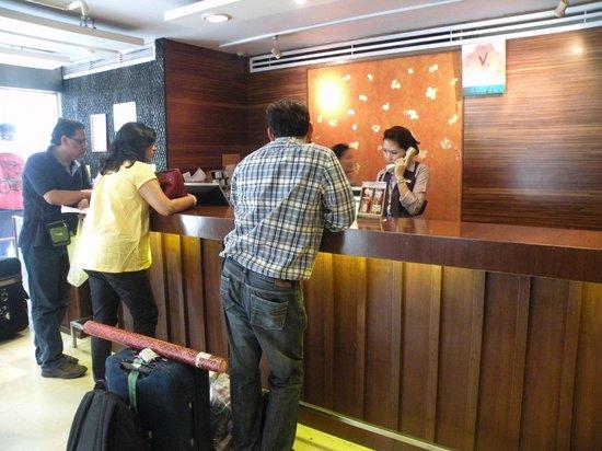 Seasons Siam Hotel: Reception