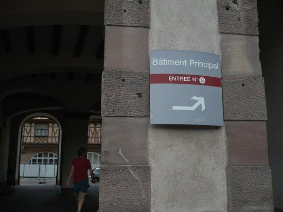 Cave historique des hospices civils de Strasbourg : Third entrance