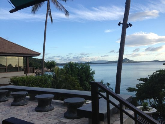 The Kala Samui : Perfect view for breakfast!