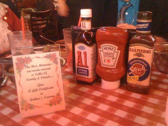 Arthur's Tavern: Salse