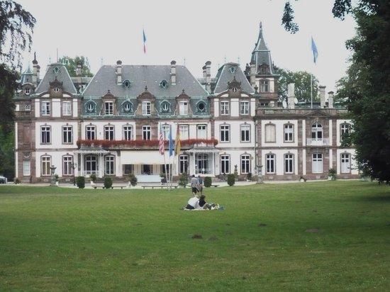Forêt de la Robertsau: Château hotel