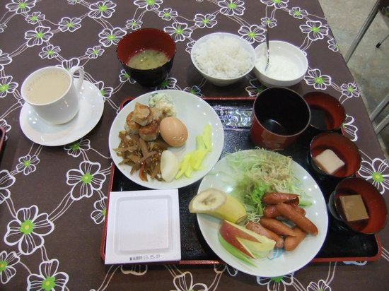 Omura Central Hotel : 朝食
