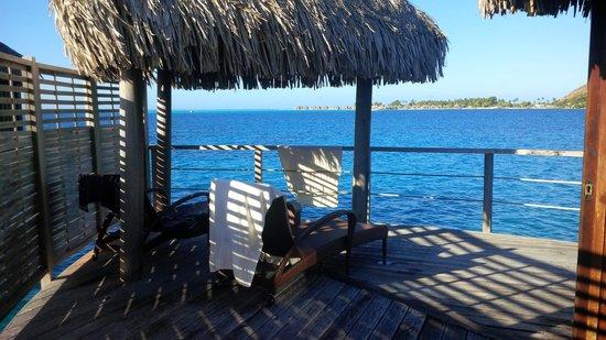 Sofitel Bora Bora Marara Beach Resort: terrasse