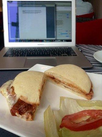 HH Gourmet : Parmesan Chicken Sandwich