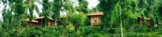 Muttil, Indien: Wooden Cottages