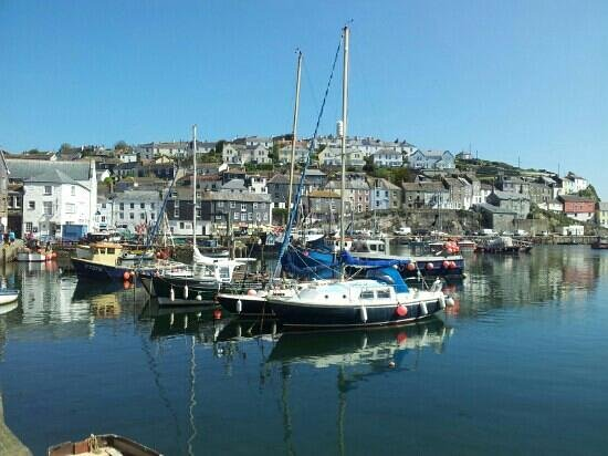 Wild Air Guest House: lovely Mevagissey.
