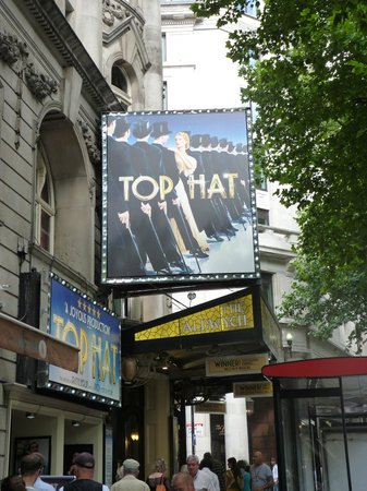 Aldwych Theatre: Top Hat the musical