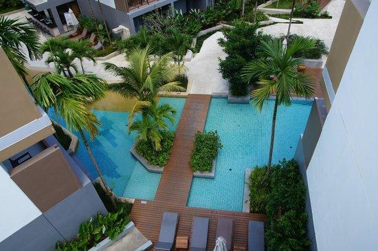 Deevana Plaza Krabi Aonang: вид с балкона