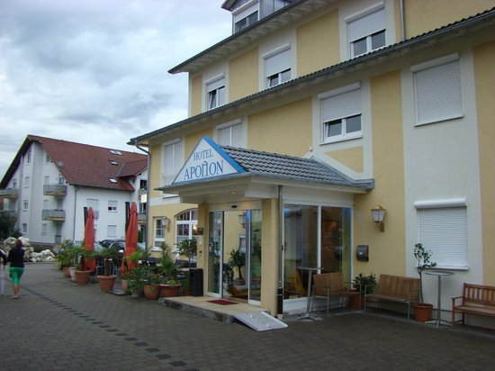 Apollon Hotel : Voorkant hotel