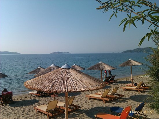 Angeliki Beach Hotel : η τέλεια παραλία
