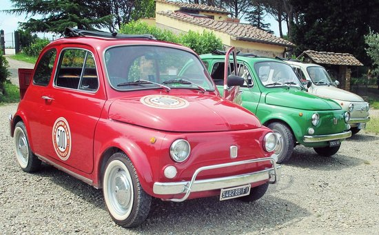 500 Touring Club: our wonderful fiat 500 !