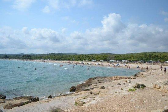 Las Palmeras Camping: beach