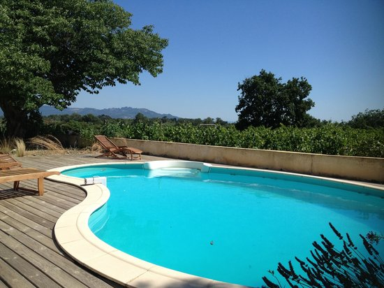 Domaine Rouge-Bleu : The pool
