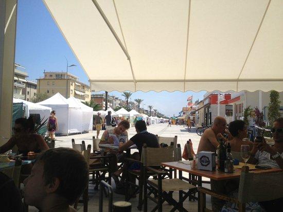 Bar Gioia: outside terass