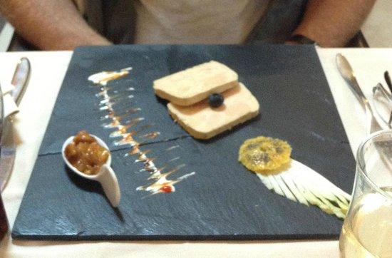 La Coupole : Foie gras