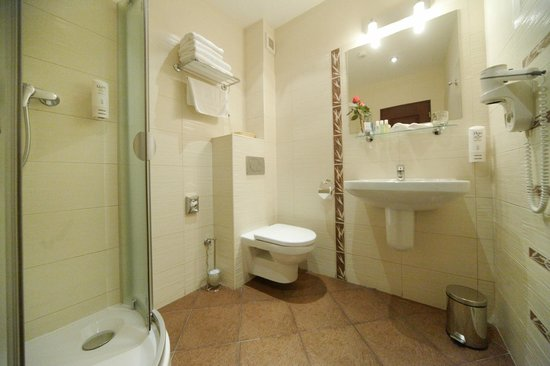 Bristol Hotel: Hotel Bristol Bathroom
