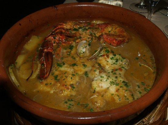 Mas Romeu Restaurante: SUQUET DE PESCADO Y MARISCO