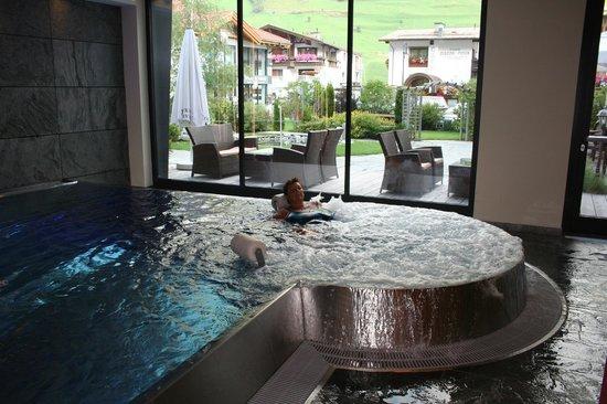 Hotel Tirol: un coin de piscine