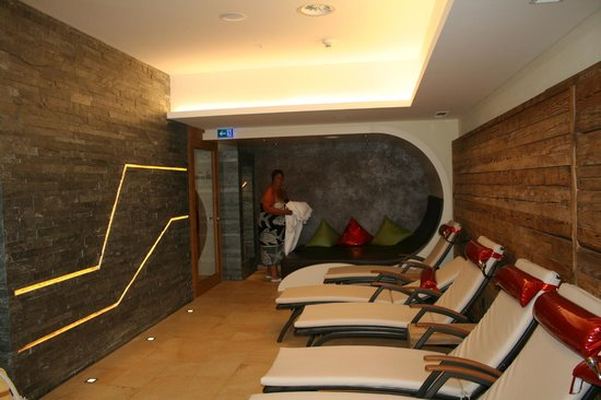 Hotel Tirol: salle de repos au sauna