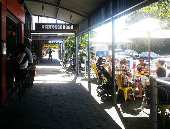 Espresso Head: A great place to soak up the sun!