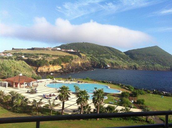 Terceira Mar Hotel: La vue sur Monte Brasil