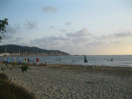 Camping Baia dei Gabbiani: ... spiaggia libera