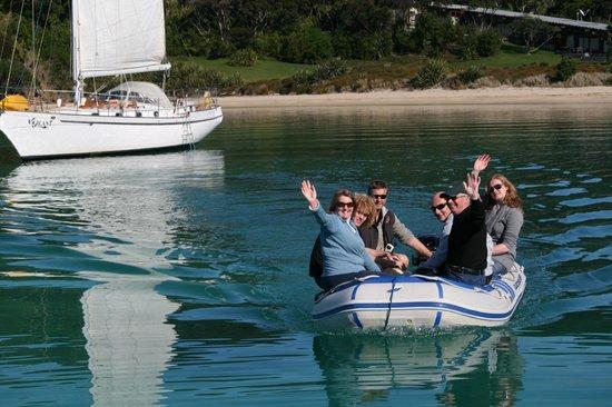 Vigilant Yacht Charters: Excursion to Island