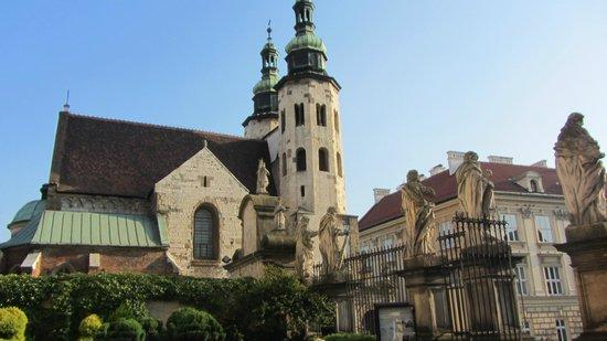 Church of St. Andrew (Kosciol Swietogo Andrzeja): Church of St. Andrew Krakow Poland