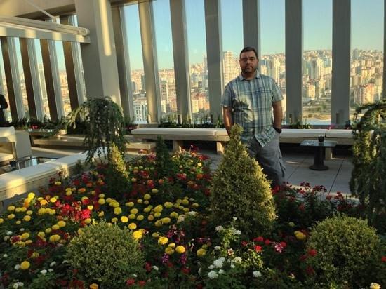 JW Marriott Hotel Ankara: the roof (terrace)